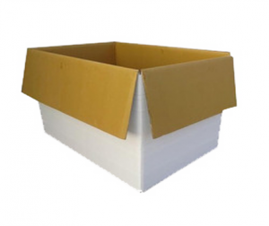 HDPE Laminated Corrugated Box